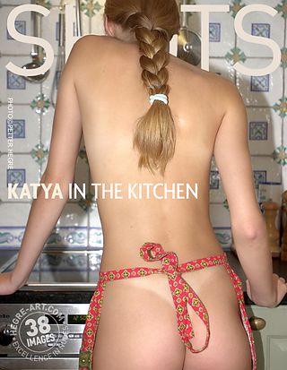 Katya dans la cuisine