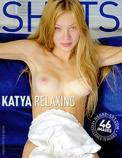 Katya relaxing