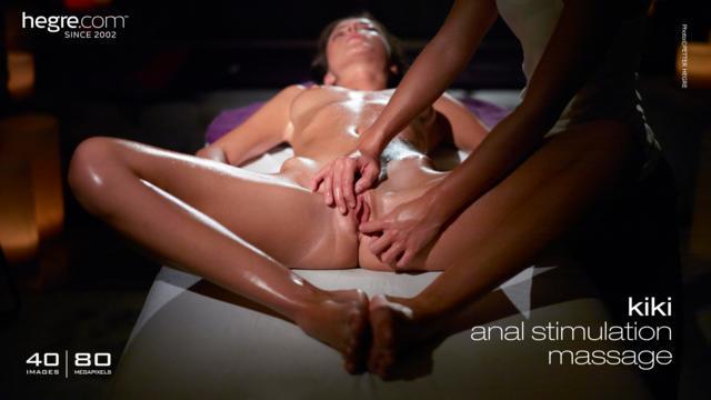 Kiki masaje estimulación anal