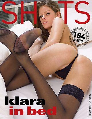 Klara in bed