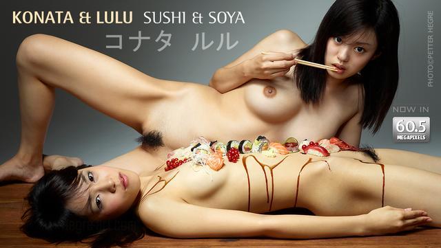 コナタ&ルル 寿司と醤油