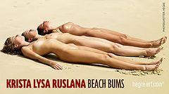 Krista Lysa Ruslana mordues de plage
