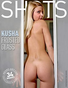 Kusha frosted glass