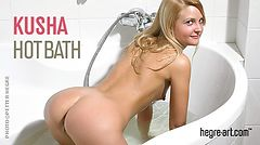 Kusha hot bath