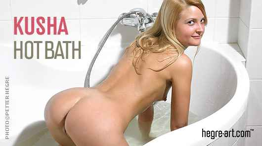 Kusha hot bath