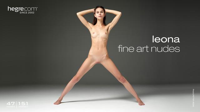 Leona beaux arts nus