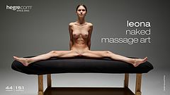 Leona naked massage art