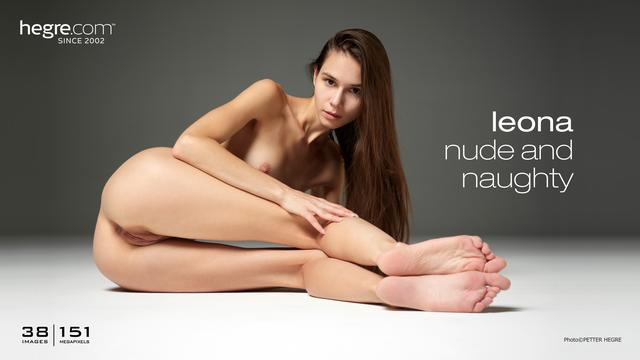 Leona nude and naughty