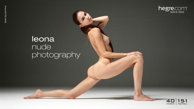 Leona photographie de nu
