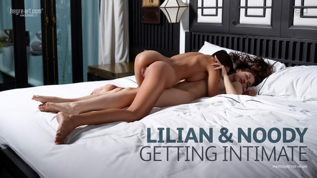 Lilian and Noody getting intimate