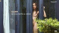 Lilian Zimmer mit Aussicht
