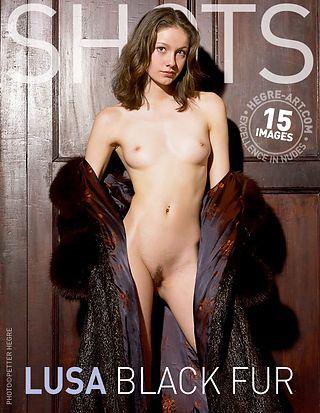 Lusa black fur