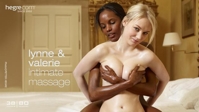 Lynne and Valerie masaje íntimo