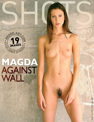 Magda against wall