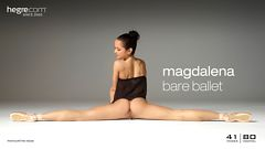 Magdalena Ballet dévêtue