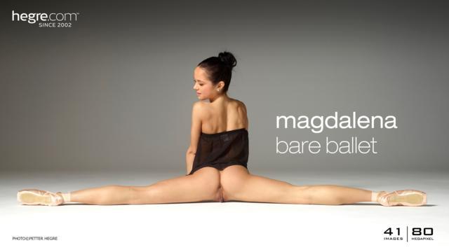 Magdalena ballet desnudo