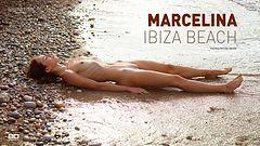 Marcelina Ibiza beach