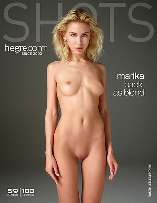 Marika back as blond