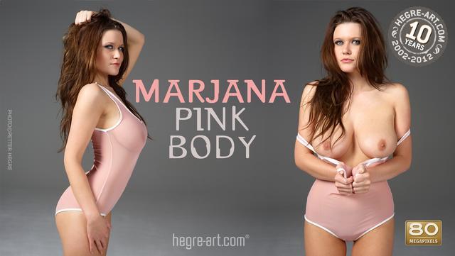 Marjana pink body