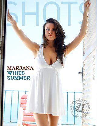Marjana white summer