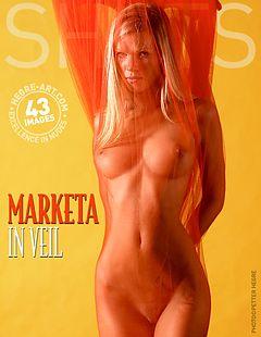 Marketa in veil