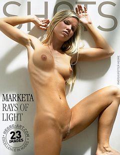 Marketa rays of light