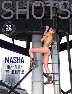 Masha Manhattan water tower