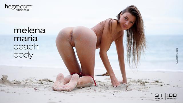 Melena Maria beach body