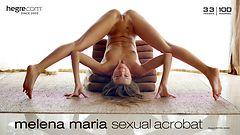 Melena Maria acrobate sexuelle