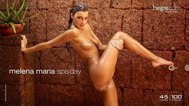 Melena Maria spa day