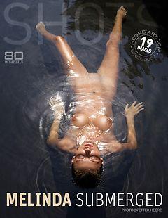 Melinda submerged