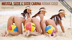 Melissa Suzie and Suzie Carina kodak gold