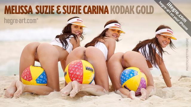 Melissa Suzie und Suzie Carina Kodak Gold