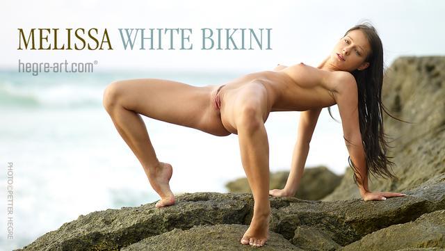 Melissa bikini blanc