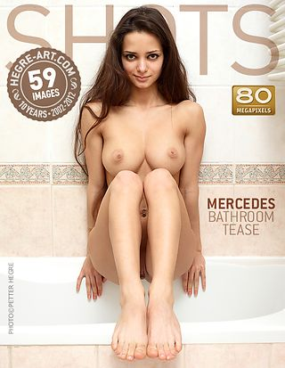 Mercedes bathroom tease