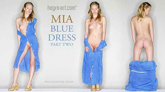Mia blaues Kleid Teil2