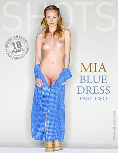 Mia blue dress part2