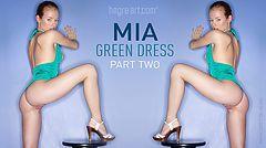 Mia vestido verde parte 2