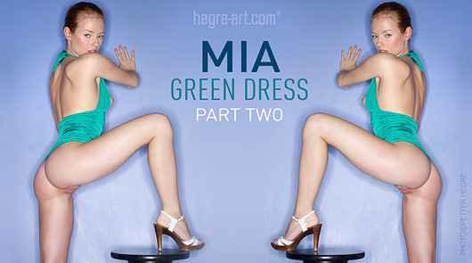 Mia robe verte partie 2