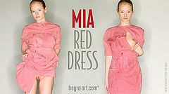 Mia red dress