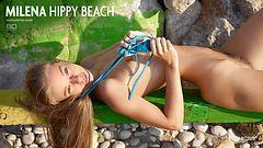 Milena hippy beach