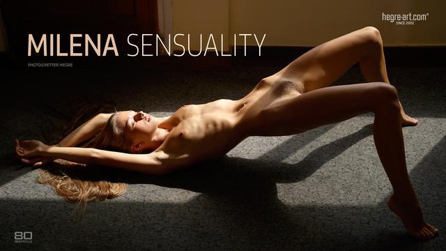 Milena sensualidad