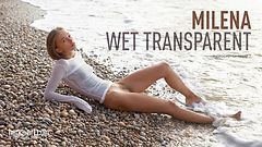 Milena wet transparent