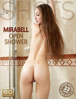 Mirabell offene Dusche