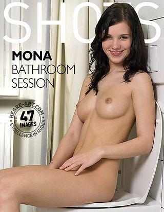 Mona bathroom session