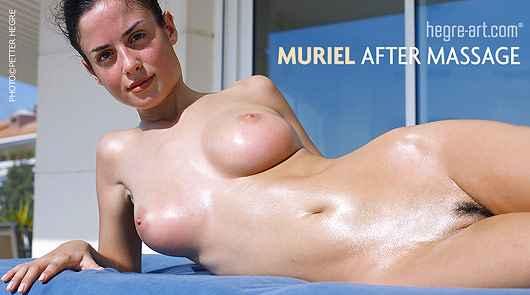 Muriel nach der Massage