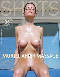 Muriel after massage