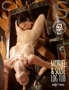 Muriel and Suzie log tub Part2