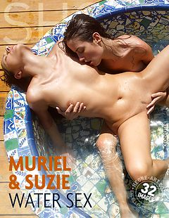 Muriel and Suzie water sex