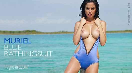 Muriel blue bathingsuit